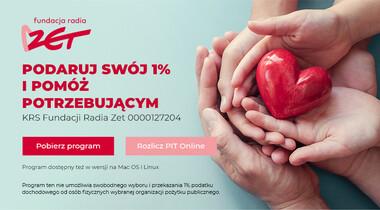 Rozlicz PIT i pomóż podopiecznym Fundacji Radia Zet!