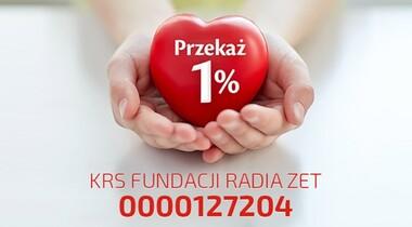 Numer KRS do przekazania 1 procenta podatku Fundacji Radia ZET